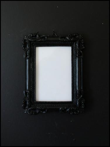 Black Classic Photo Frame