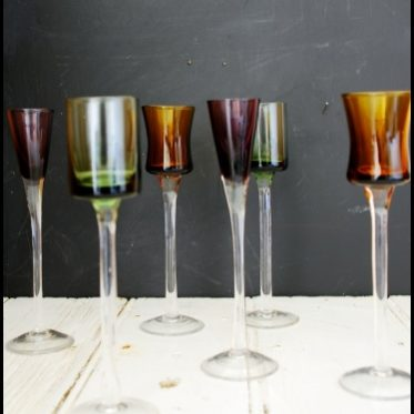 Kaleidoscope Liqueur Glasses