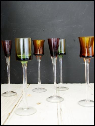 Kaleidoscope Liqueur Glasses