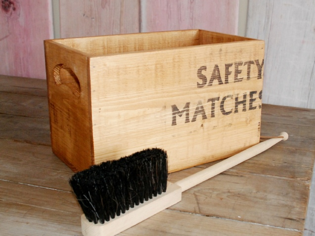 Wooden Kindling Box