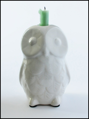 Owl Candle Stick