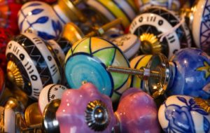 ceramics, door knobs, vintage, design, furnishings